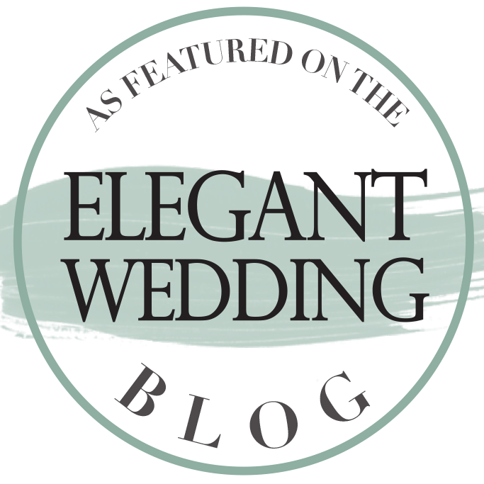 Tel que vu dans Elegant Wedding Blog